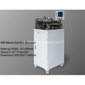 Advanced Fin Cutting-Off Maschine: Servo Cutter