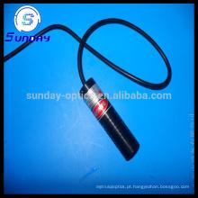 Módulo laser verde linha 532nm 20mw 50mw 100mw 22mmx110mm