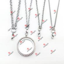 Regalos de Navidad personalizado cadena de acero inoxidable suéter collar (CSN60104)