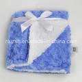 Exportación de capas dobles mantas de bebé para niños