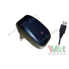 4 Watt Spain / India / Australia Universal Ac Dc Usb Charger For Walkie Talkie , Input 90-264vac