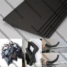 Plaque de coupe cnc en fibre de carbone 3K