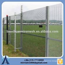 La alta calidad 76.2mm * 12.7mm galvanizó la cerca de seguridad 358, 358 la cerca, 358 la cerca de alta seguridad