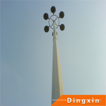15m, 18m, 20m, 25m, 30m, 35m hohe Mastbeleuchtungstange mit Hebesystem