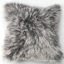 oreiller de peau de fourrure mongole bébé nouveau-né
