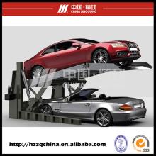 Sistema de venta caliente para el estacionamiento vertical elegante automático del elevador del coche de dos postes