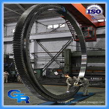 China manufacturers large gear turntable bearing
