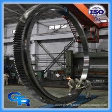 China fabricantes de engrenagem grande roda giratória rolamento