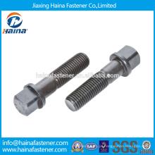 Em estoque Fornecedor chinês melhor preço DIN 478 aço carbono / aço inoxidável parafusos cabeça quadrada com colar / parafuso da arruela