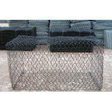 PVC Coated After Galvanized Gabion Mesh / Stone Cage / Gabion Box