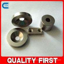 Made in China Manufacturer & Factory $ Supplier High Quality Block Magnet with Countersunk