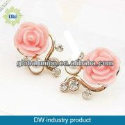 Latest Fashion Korea Earring Jewelry Flower Stud Earring