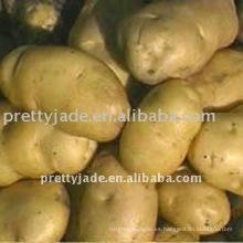Vendedores de patatas frescas
