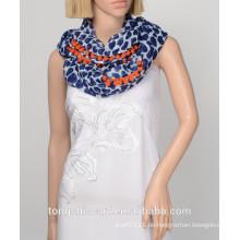 Neueste modische Liebe Herz gedruckt Loop Schal und Schal heißer Verkauf Unendlichkeit Schal