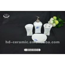 4pcs cerâmica dom banho definido