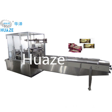 High efficiency automatic candy wrapper pillow candy packing machine