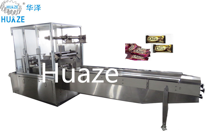 Fully automatic chocolate pillow packing machine