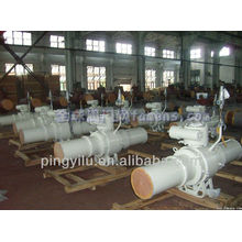 Válvula de bola soldada china completa Q61F-25