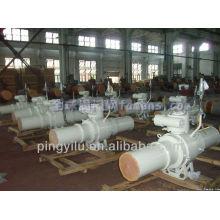 Китайский полностью сварной шаровой кран Q61F-25