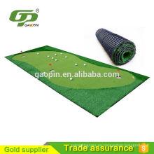 2016 nuevos productos de golf Artificial Grass Indoor Golf Mat simulador precio