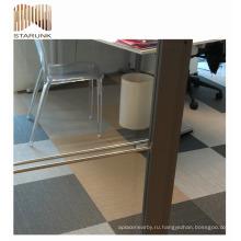 водонепроницаемый парковка коридора тканые ПВХ плитка для дома