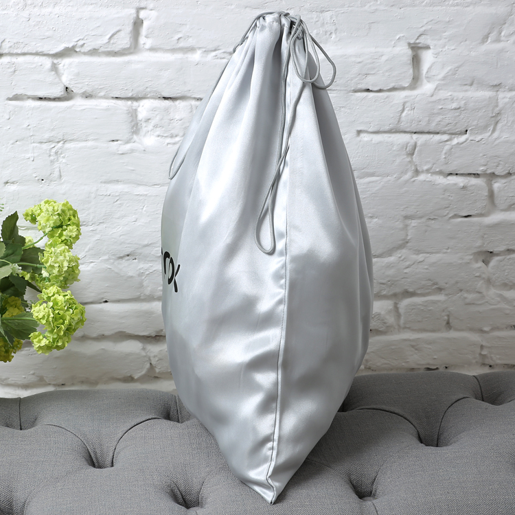 large sport swimming satin bag with drawstring