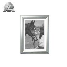 satin brushed anodized photo frames aluminum