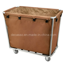 Hotel and Hospital Cone-Shape Linen Cart (DD36)