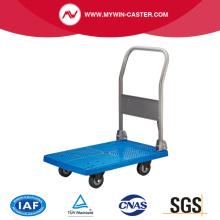 Restoran ve otel plastik ağır el arabası/düz Trolley/Platform Vagon