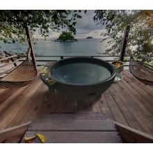 Fiberglass Resin SPA Dutch Hot Tubs Outdoor SPA