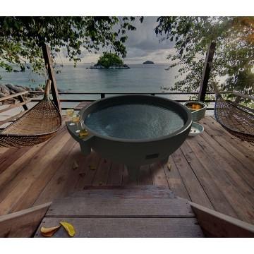 Горячая ванна Обогреватель Ванна Барбекю Открытый Гидромассажная ванна SPA Dutch Tubs
