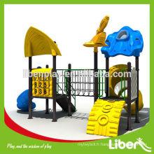 Acier, plastique, galvanisé, matériel en aluminium et parc d'attractions, équipement de terrain de jeux extérieur Type École Terrain de jeux LE.FF.010