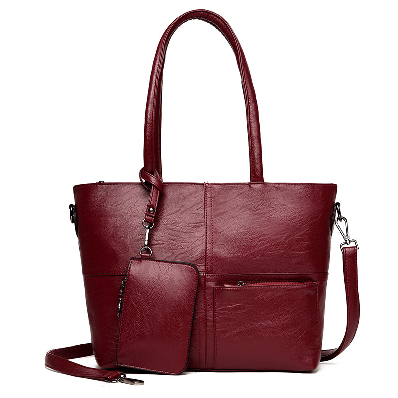 High Quality Wholesale leather bags women handbags