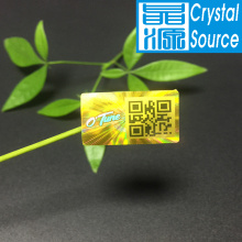 Laser Anti-counterfeit PET Hologram Label