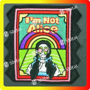 Alice patch para roupas de decroation