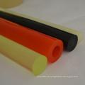 Hastes plásticas coloridas do poliuretano do plutônio da carcaça