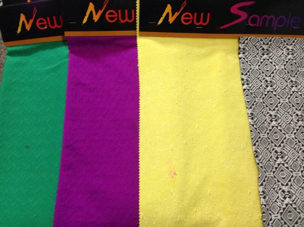 cotton jacquard knit women cloth fabric