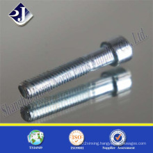 Blue-White Zinc Hex Socket Cap Screw