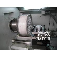 CNC Lathe Used to Polish Car Wheel Surface