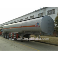 Semirremolque de tanque de combustible tri-eje 40m3 de fábrica, semirremolque