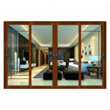 Bela varanda porta de vidro deslizante