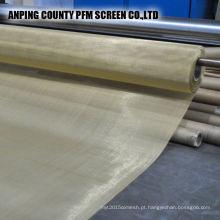 Malha de arame de cobre feita malha de 200 mícrons do engodo da malha para o fornecedor do filtro