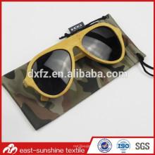 Camouflage Digital gedruckt Microfaser Tasche für Sonnenbrillen