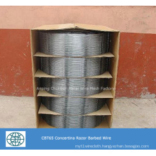 PVC Coated Welded Razor Barbed Wire Fence