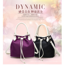Popular Custom Made Women Handbag Drawstring Nylon Bag