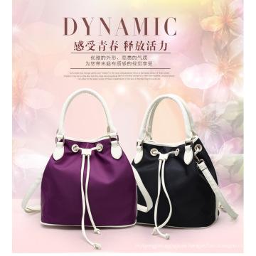 Bolso de nylon por encargo popular del cordón del bolso de las mujeres