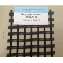 Pavement Reinforcement Fiberglass Geogrid Mesh
