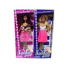 Neues Produkt 2015 Puppe Spielzeug Kunststoff Schwarz Fahion Puppe