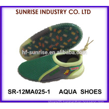 SR-12MA025-1 Popular boys soft TPR beach aqua shoes plastic beach shoes water shoes surfing shoes