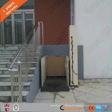 fauteuil roulant vertical intérieur hydraulique ascenseurs ascenseurs petit ascenseur à la maison pour les personnes handicapées
